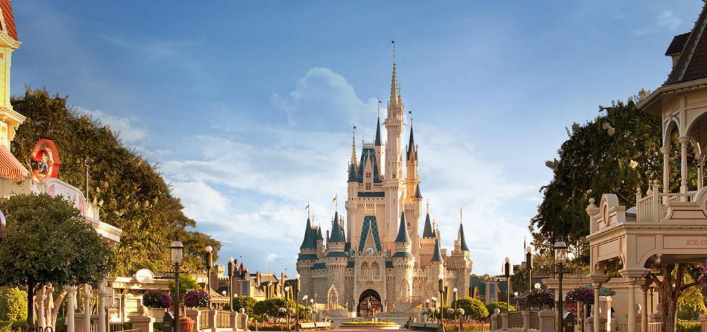 Castelo da Disney World
